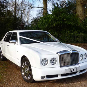 Our Wedding Special - White Bentley Arnage
