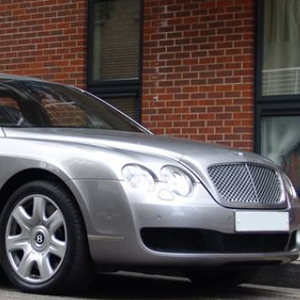 Complete comfort and luxury from our Silver Bentley Flying Spur available throughout London