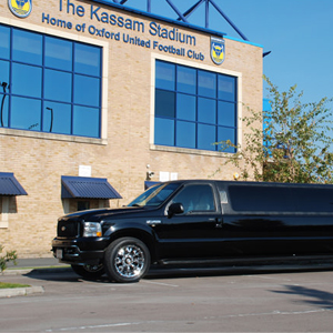 Our Black Ford Excursion Limousine