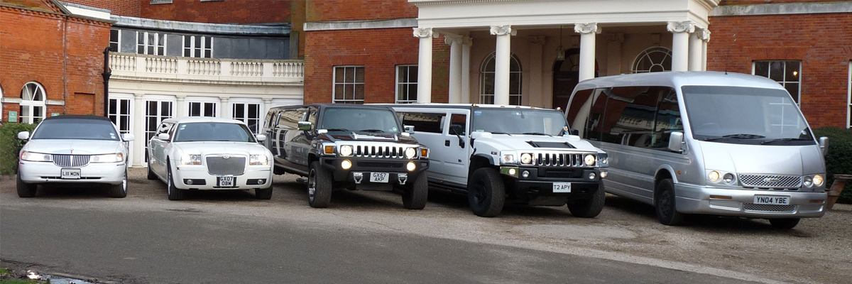 Make sure you own the road in the Hummer H2 Limo