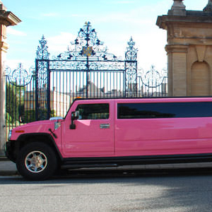 Our Pink H2 Hummer