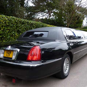 Our Black Lincoln Town car