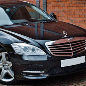 Our Black Mercedes S Class