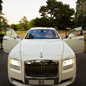 Our White Rolls Royce Phantom Ghost