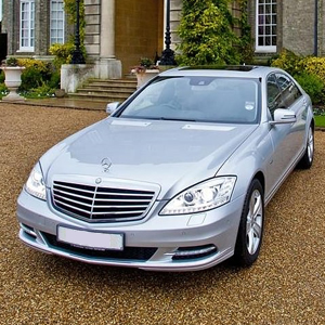 Our Silver Mercedes S-Class