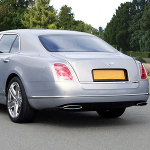 Our Silver Bentley Mulsane