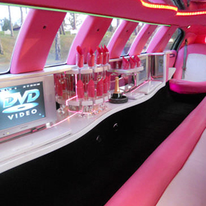 Our Pink Stretch Limousine